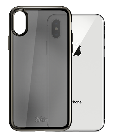 "iSkin Claro SE for iPhone X / XS (5.8"") - Dark Chrome"