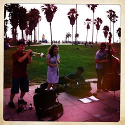 Busking in Venice, 2012