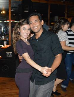 Chloe & Conrad out swing dancing