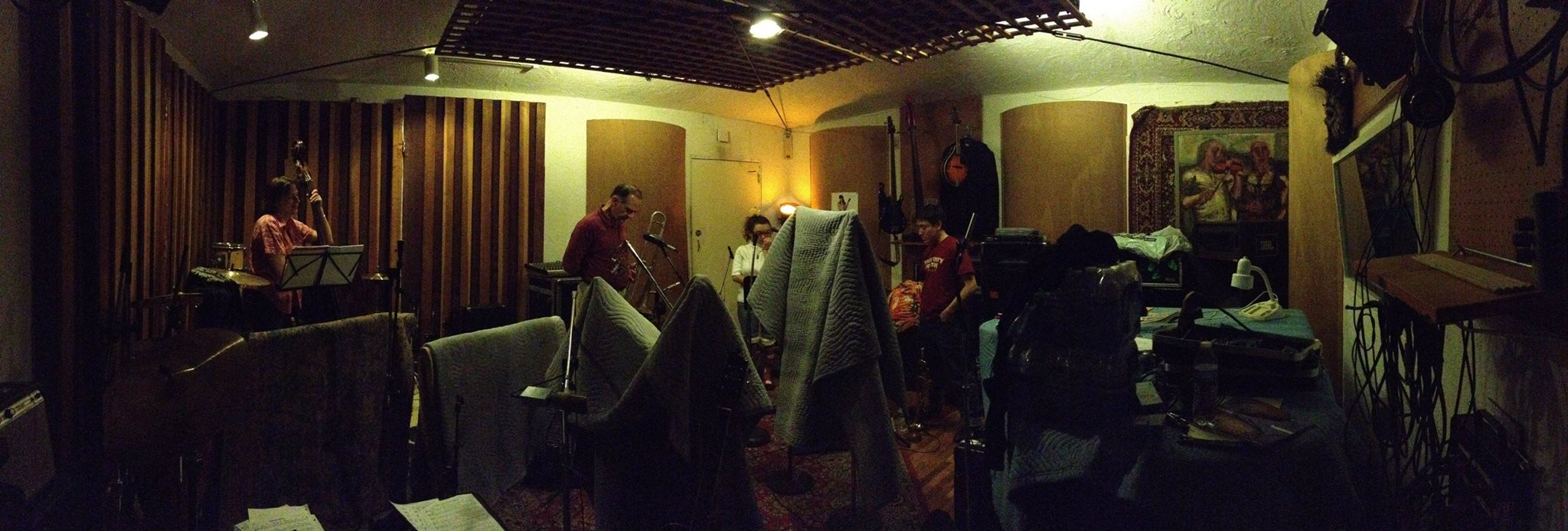 recording the album, 12.2014