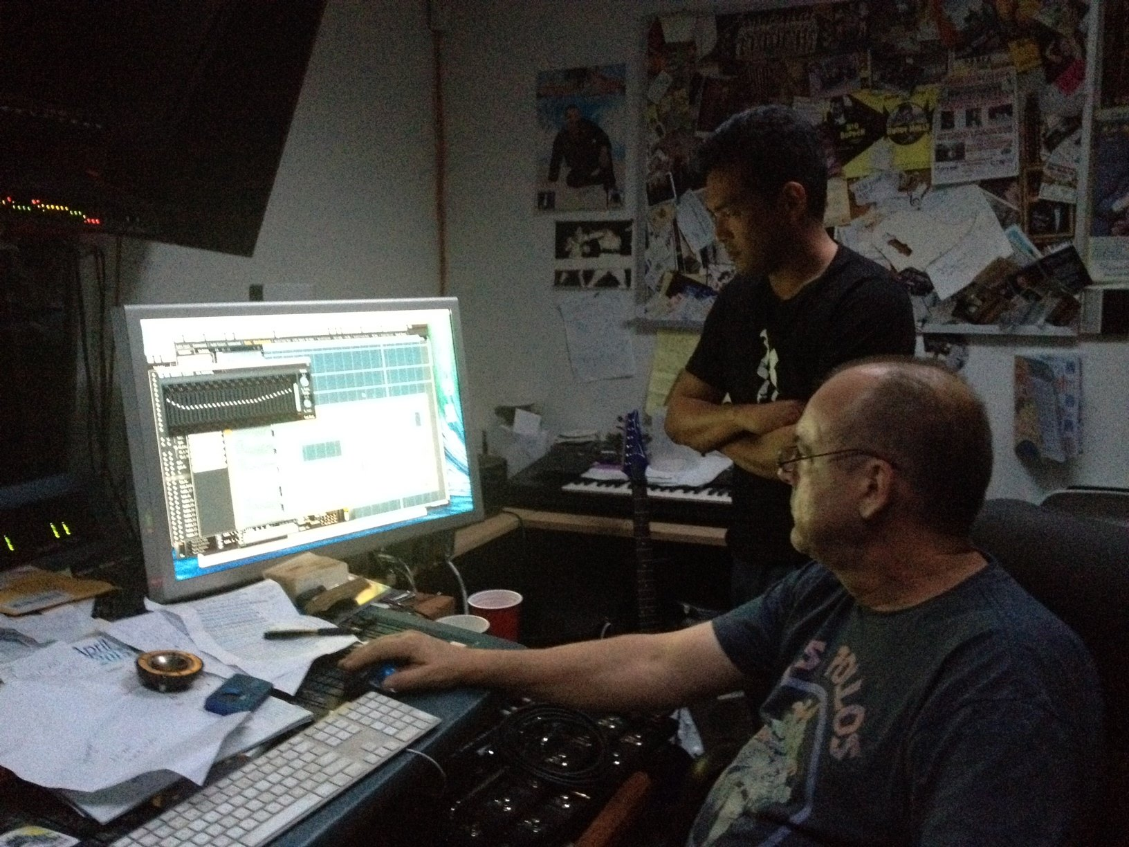 Mixing the album, 04.2015