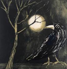 Crow in the Moonlight