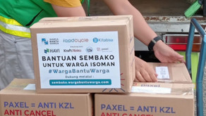 FoodCycle Distribusikan Paket Bantuan Isoman Melalui Kolaborasi #WargaBantuWarga