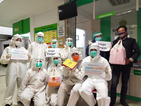 #JagaPangan: Inisiasi FoodCycle untuk Mendukung Tenaga Medis