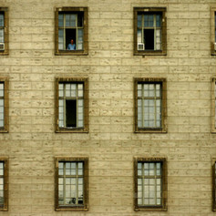 Fabrikfenster Ost-Berlin