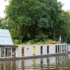 Hausboot auf der Spree