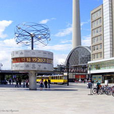 Weltuhr am Alexanderplatz