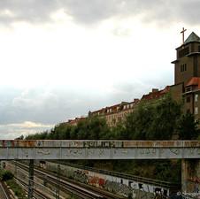 Blick von der Sonnenburger Straße