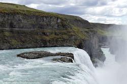 """Wasserfall """"Gullfoss"""""""
