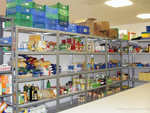 Lebensmittelspenden für die Troisdorfer Tafel