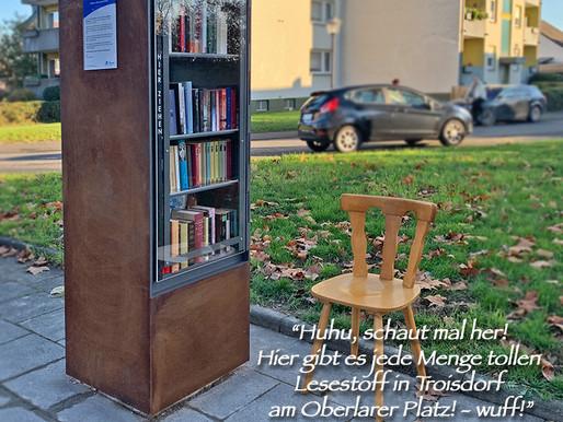 Offener Bücherschrank - jetzt auch in Troisdorf-Oberlar!