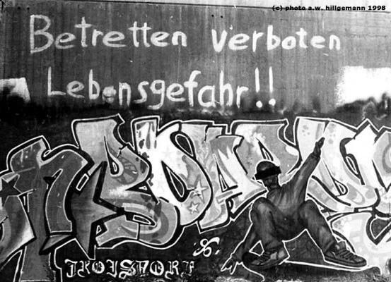 Graffiti Kaiserbau Troisdorf