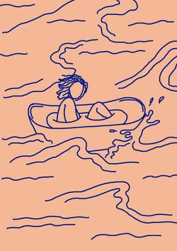 banheira em alto mar