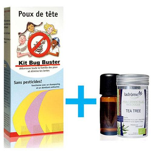 Pack Bug Buster + Tea-Tree - Ladrôme