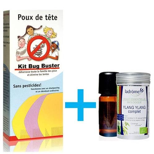 Pack Bug Buster + Ylang-Ylang bio - Ladrôme