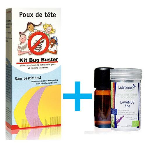 Pack Bug Buster + Lavande fine bio - Ladrôme