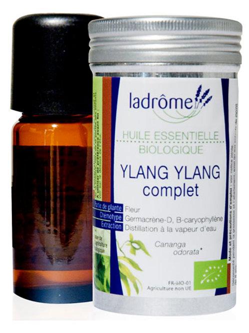 Huile essentielle de Ylang-Ylang bio - Ladrôme