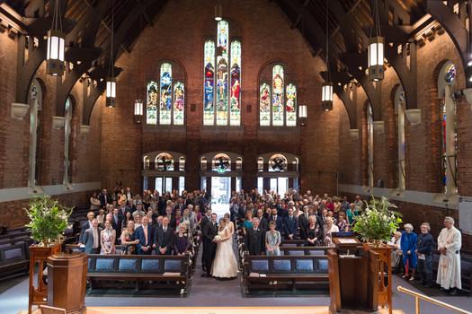 Bride, Groom & Guests