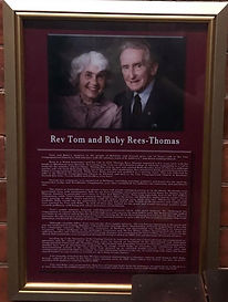 Rev Tom and Ruby Rees-Thomas Brisbane