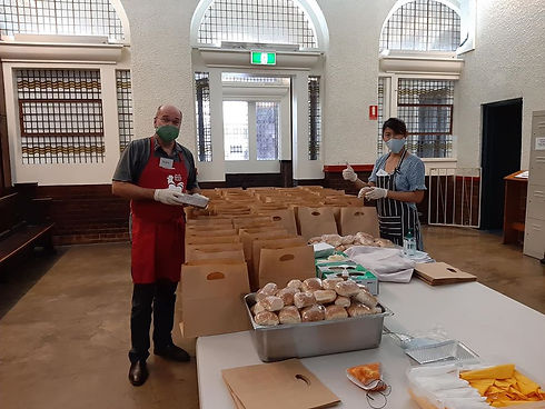 Community Meal Brisbane City