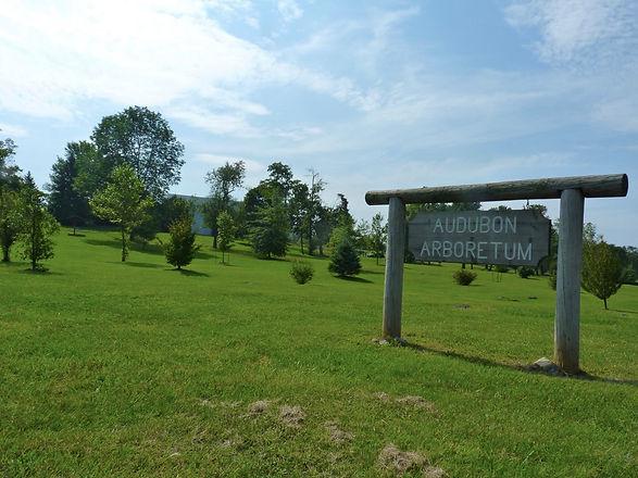 Audubon Arboretum sign.jpg