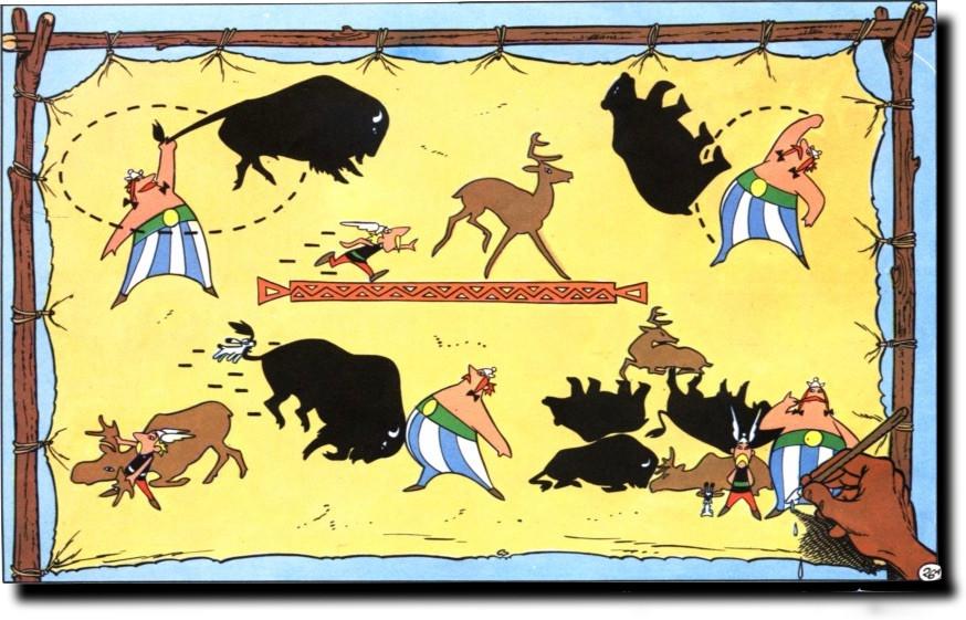 Obelix y los mamporros por los malos Powerpoint