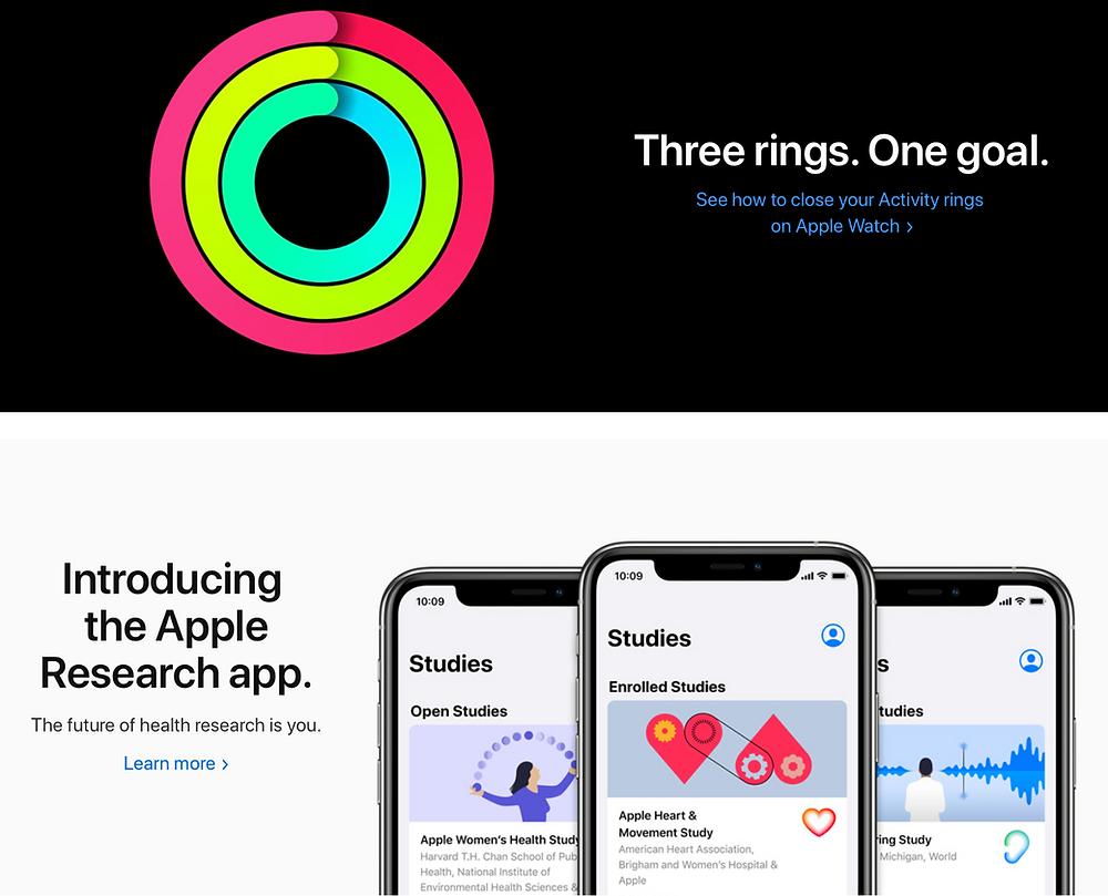 Diego Marqueta - blog presentaciones - muestra iPhone y Watch