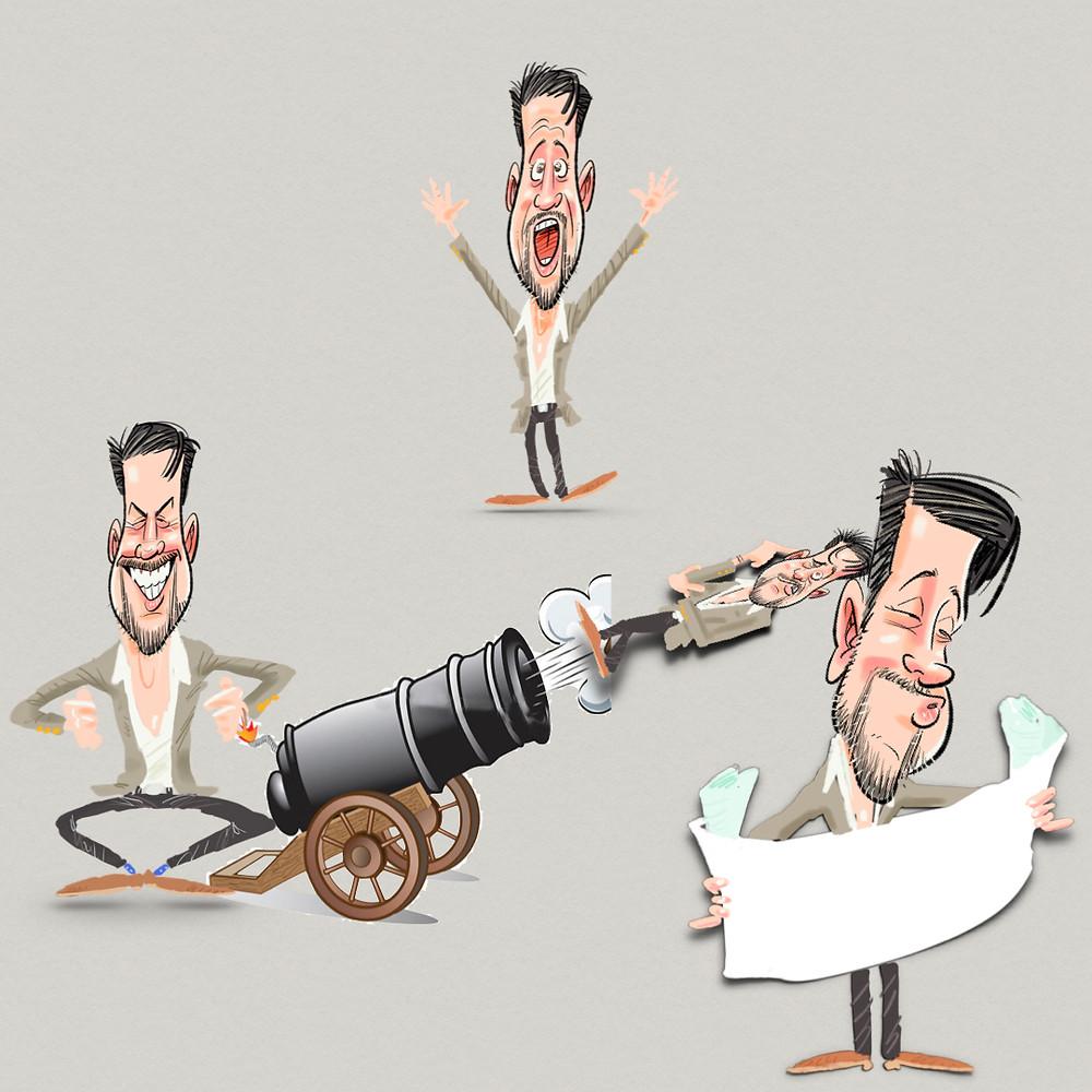Blog Diego Marqueta-Presentaciones-cañonazo-caricaturas