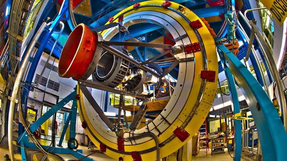 Fermilab - cámara de materia oscura.