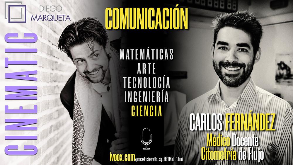 Podcast sobre Comunicación en tareas STEAM. Con Diego Marqueta e invitados de lo más interesantes.