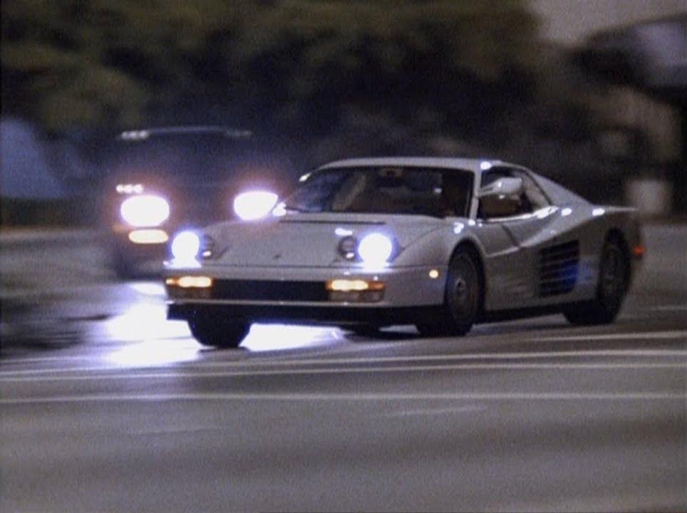El Ferrari Testarossa blanco: un icono en la comunicación de marca visual. Diego Marqueta-Presentaciones.
