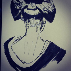 Quick geisha sketch #artist #art #art🎨 #art✏ #artwork #drawing #drawings #sketchbook #sketch