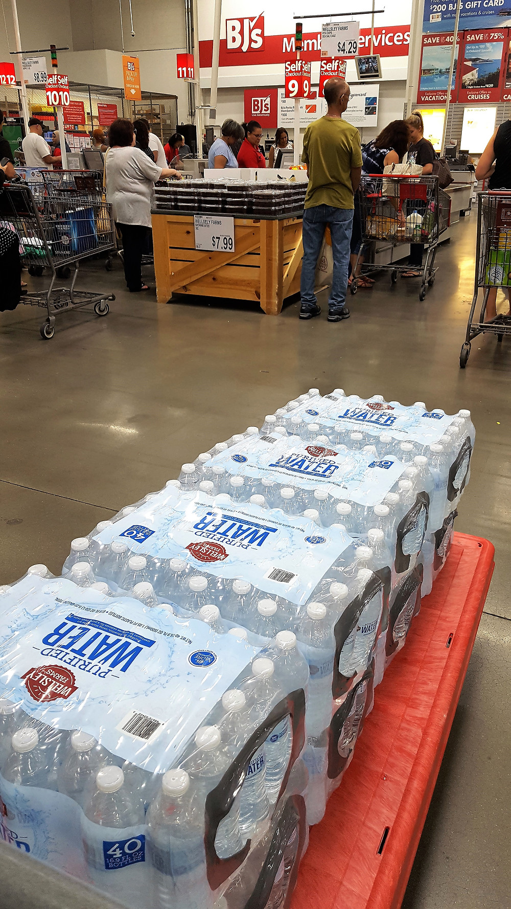 Buying Water from BJs