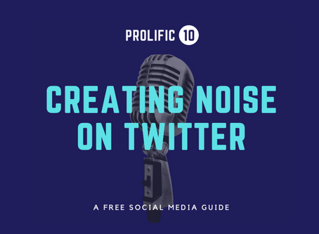FREE SOCIAL MEDIA EBOOK: Creating noise on Twitter!