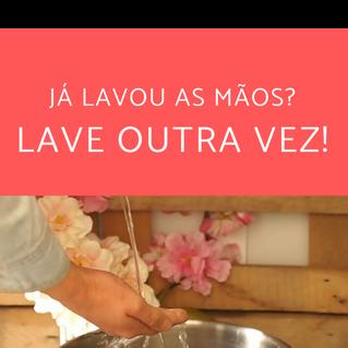 Coronavírus - Lavar as mãos bem e com frequência