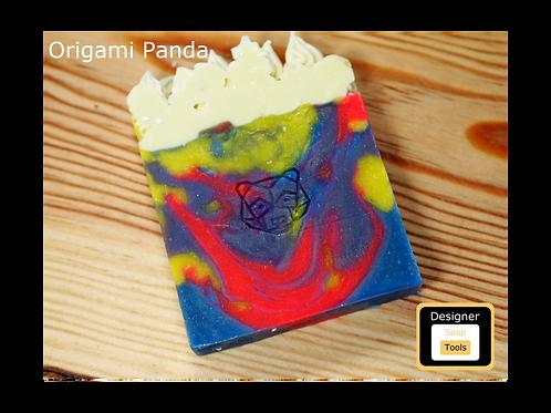 Stamp Origami Panda