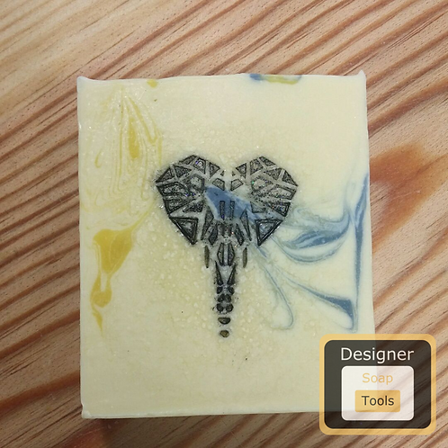 Stamp Origami Elephant
