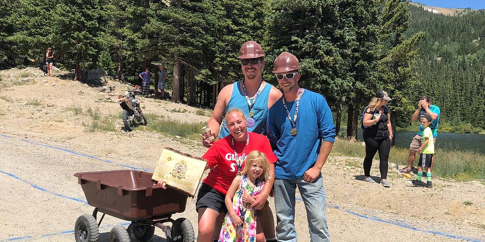 GlacierFest 2019 2nd Annual Ore Cart Races