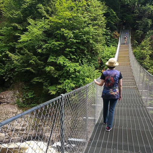 Pont suspendu ville de Québec