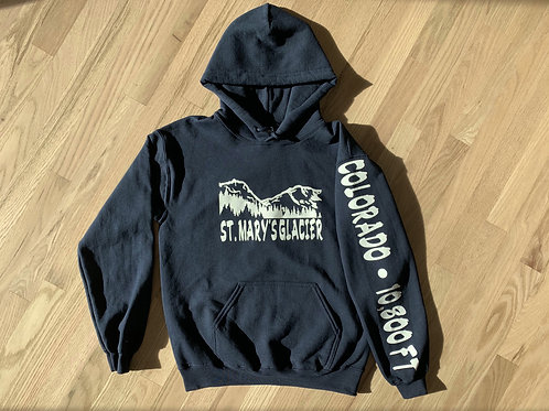 St. Mary's Hoodie NAVY BLUE