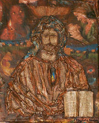 icone religieuse Christ Pantocrator magdalienadeau