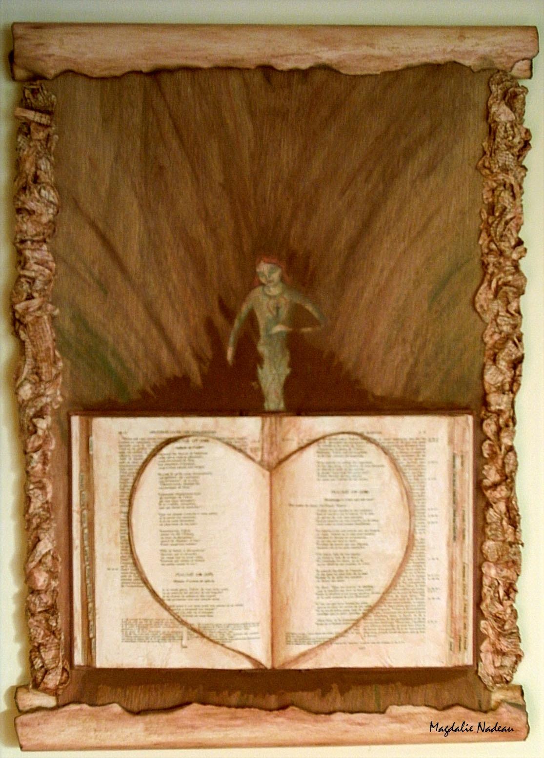 Voici la Bible qui a donné de ses pages