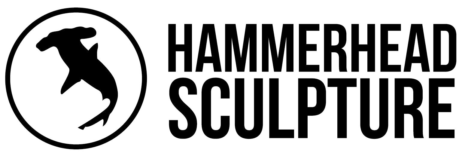 Hammerhead sculpture