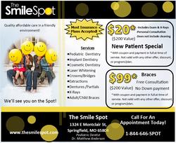 Smile Spot Post Card