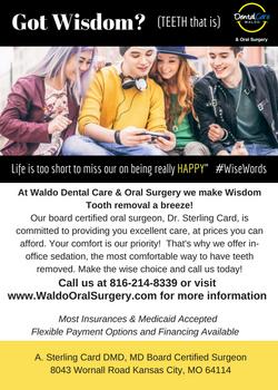 5x7 Oral Surgery Flyer