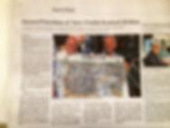 Illustration de Saint-Malo par Yann Chollet et Gérard Prévoteau : La Presse en parle. Un superbe souvenir à ramener de la cité corsaire. Ce dessin représentant la ville de Saint-Malo fait un magnifique poster en cadeau.