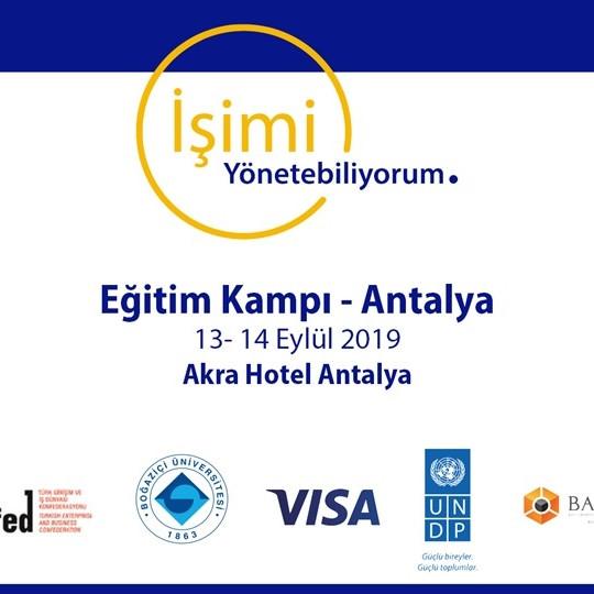 İşimi Yönetebiliyorum Eğitim Kampı - Antalya