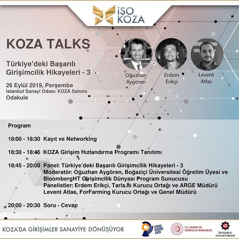 Koza Talks