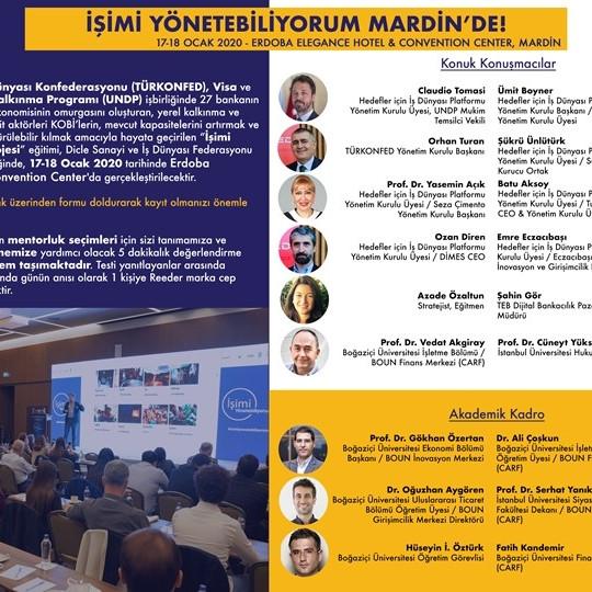 İşimi Yönetebiliyorum Eğitim Kampı  Mardin