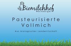 Pasteurisirte Vollmilch
